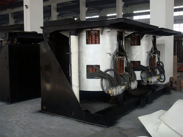 China Medium Frequency Hydraulic Steel shell furnace KGPS-2000KW/3000kg supplier