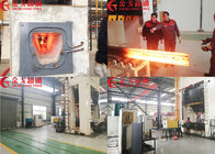 China Round Steel Medium Frequency Induction Heating Equipment With High Efficiency factory